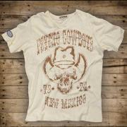 Psycho Cowboys / white | L - XXXL