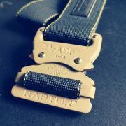 MASTER BELT RAPTOR - black/oliv-sand