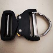 MASTER BELT D-Ring - black/black