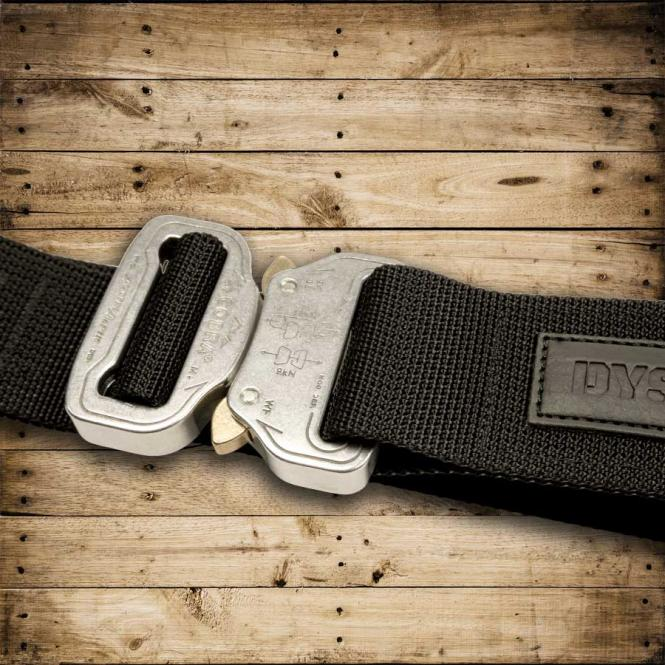 MASTER BELT (M) Silver Star - silver/black