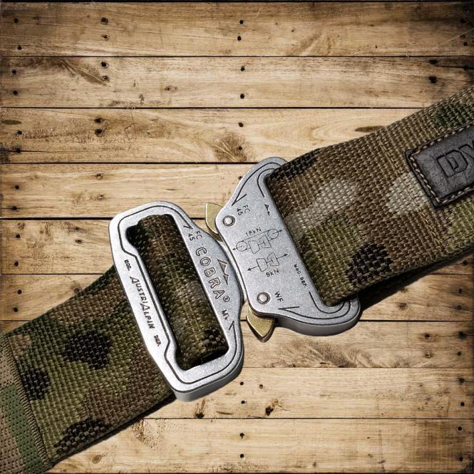 MASTER BELT Combat - silver/camouflage