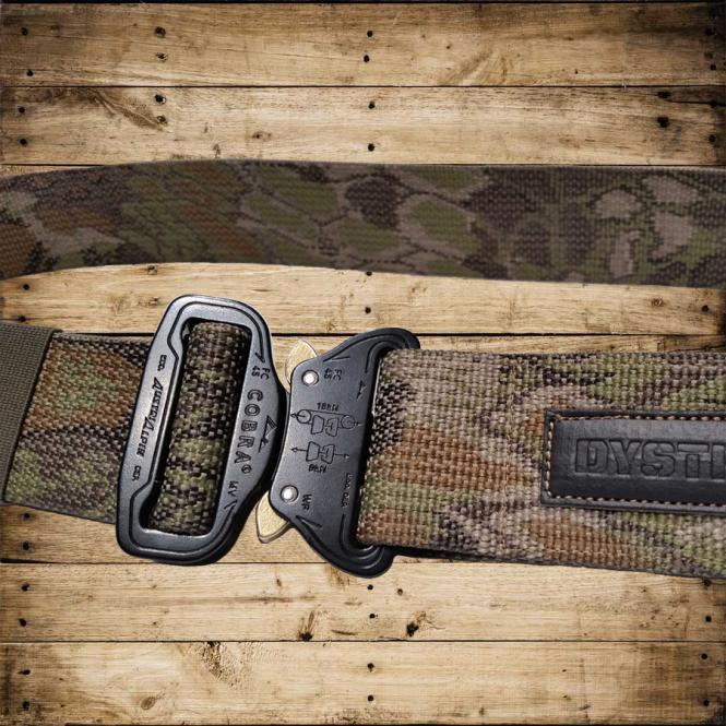 MASTER BELT Snake - black/camouflage