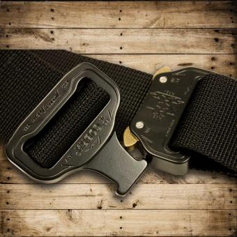 MASTER BELT (M) Black Widow  | - black / black