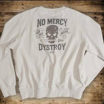 Sweatshirt No Mercy / dirty white