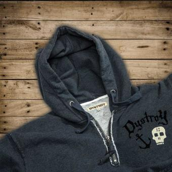 Dystroy Hoody Anchor&Skull